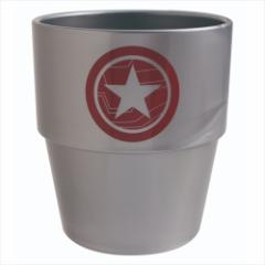 キャプテンアメリカ プラカップ スタッキングタンブラー ウインターソルジャー マーベル キャラクターグッズ通販