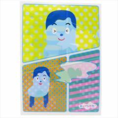 みいつけた ファイル A4シングルクリアファイル コッシー&サボさん NHK キャラクターグッズ通販 メール便可