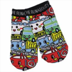ザ・ラナバウツ 子供用靴下 キッズソックス パターン サンリオ キャラクターグッズ通販 メール便可