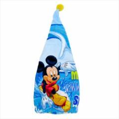 ミッキーマウス ヘアドライ帽子 キャップタオル サマーMickey ディズニー キャラクターグッズ通販 メール便可