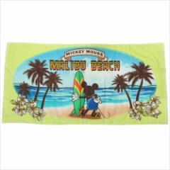 ミッキーマウス JUMBOビーチタオル レジャーバスタオル マリブビーチ ディズニー キャラクターグッズ通販