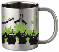 トイストーリー 保温保冷マグカップ ステンレス二重マグカップ シルエットエイリアンいっぱい ディズニー キャラクターグッズ通販