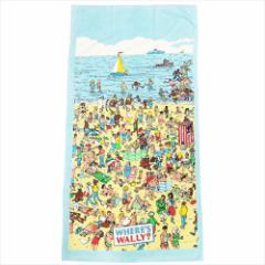 ウォーリーを探せ JUMBOビーチタオル レジャーバスタオル WALLY SUMMER キャラクターグッズ通販