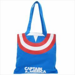 キャプテンアメリカ トートバッグ キャンバスカラートート シールド マーベル キャラクターグッズ通販