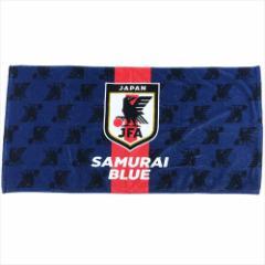 サッカー日本代表 バスタオル インクジェットプリントバスタオル SAMURAI BLUE スポーツグッズ通販