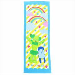 みいつけた 子供用プールタオル ジュニアバスタオル レインボーハッピー NHK キャラクターグッズ通販