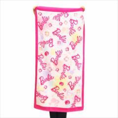 バービー JUMBO ビーチタオル レジャー バスタオル シャイニーシェル Barbie キャラクターグッズ通販