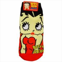 ベティブープ 女性用靴下 レディースソックス FACE キャラクターグッズ通販 メール便可
