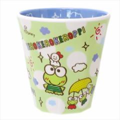 けろけろけろっぴ プラカップ Wプリントメラミンカップ チラシ サンリオ キャラクターグッズ通販