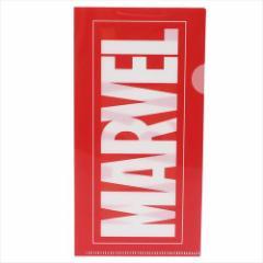 MARVEL ファイル チケットホルダー ビッグBOXロゴ マーベル キャラクターグッズ通販 メール便可