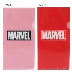 MARVEL ファイル チケットホルダー BOXロゴ マーベル キャラクターグッズ通販 メール便可