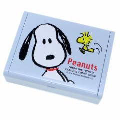 スヌーピー アクセサリー 収納 ミラー付き ジュエリーボックス 正面 ピーナッツ キャラクターグッズ通販