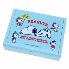 スヌーピー アクセサリー 収納 ミラー付き ジュエリーボックス 寝そべり ピーナッツ キャラクターグッズ通販