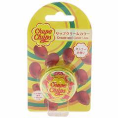 チュッパチャプス コスメ雑貨 リップクリーム カラー マンゴーの香り キャラクターグッズ通販
