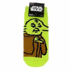スターウォーズ 女性用靴下 レディースソックス らくがき ヨーダ STARWARS キャラクターグッズ通販 メール便可