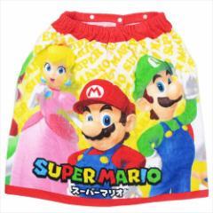 スーパーマリオ ラップタオル 60cm丈巻き巻きタオル フレンズ nintendo キャラクターグッズ通販