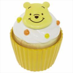くまのプーさん 陶器型小物入れ カップケーキ型キャニスターディズニー キャラクターグッズ通販
