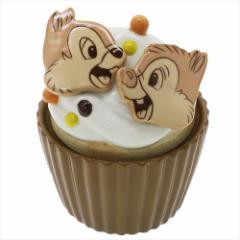 チップ&デール 陶器型小物入れ カップケーキ型キャニスターディズニー キャラクターグッズ通販
