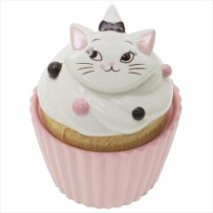 おしゃれキャット マリー 陶器型小物入れ カップケーキ型キャニスターディズニー キャラクターグッズ通販
