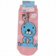 ぼのぼの 女性用靴下 レディースソックス お花 キャラクターグッズ通販 メール便可