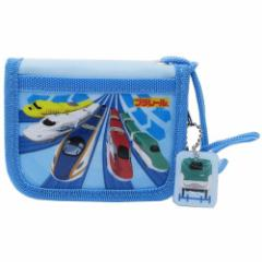 プラレール 子供用財布 キッズ ラウンドウォレット 鉄道 キャラクターグッズ通販 メール便可
