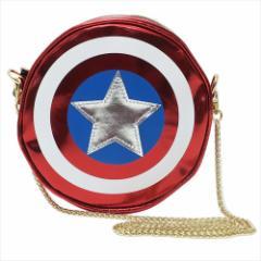キャプテンアメリカ ショルダーバッグ ラウンドバッグ シールド マーベル キャラクターグッズ通販