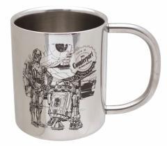 スターウォーズ 保温保冷マグカップ 真空ステンレス二重MUG ドロイド STAR WARS キャラクターグッズ通販