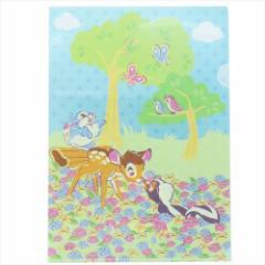 バンビ ファイル A4シングルクリアファイル 2159686 ディズニー キャラクターグッズ通販 メール便可