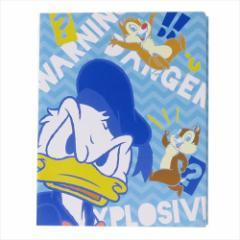 ドナルド&チップ&デール 付箋 ブック型ふせん 2811090 ディズニー キャラクターグッズ通販 メール便可
