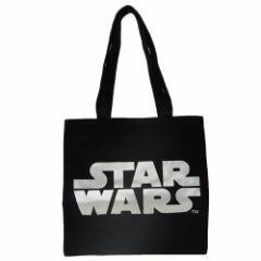 スターウォーズ トートバッグ カラートート ロゴ ブラック STAR WARS キャラクターグッズ通販