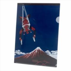 デッドプール ファイル A4シングルクリアファイル 黒富士 マーベル キャラクターグッズ通販 メール便可