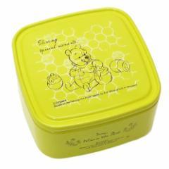 くまのプーさん お弁当箱 パックランチボックス S はちみつ イエロー ディズニー 保存容器 ランチケース キャラクター グッズ