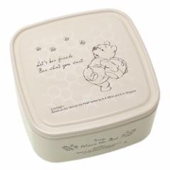 くまのプーさん お弁当箱 パックランチボックス S みつばち アイボリー ディズニー 保存容器 ランチケース キャラクター グッズ