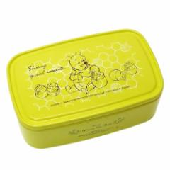 くまのプーさん お弁当箱 パックランチボックス L はちみつ イエロー ディズニー 保存容器 ランチケース キャラクター グッズ