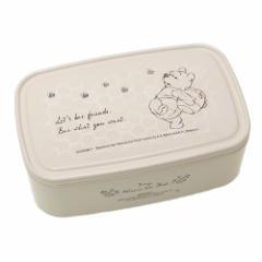 くまのプーさん お弁当箱 パックランチボックス L みつばち アイボリー ディズニー 保存容器 ランチケース キャラクター グッズ