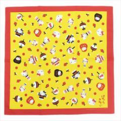 ハローキティ 大判ハンカチ 風呂敷 和のおもちゃ サンリオ 70×70cm キャラクター グッズ