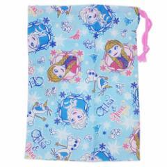 アナと雪の女王 巾着袋 歯ブラシホルダー付 コップ袋 17 ディズニー 15×21cm キャラクター グッズ メール便可