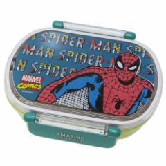 スパイダーマン お弁当箱 食洗機対応 小判型 タイトランチボックス マーベル 360ml キャラクター グッズ