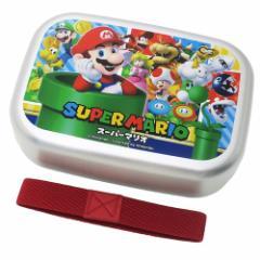 スーパーマリオ お弁当箱 アルミ ランチボックス SUPER MARIO 17 nintendo 370ml キャラクター グッズ