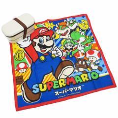 スーパーマリオ ランチクロス コットン ナフキン 17 nintendo 43×43cm キャラクター グッズ メール便可