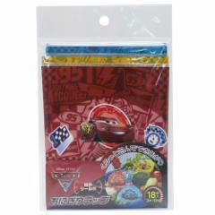 カーズ キャラ弁 雑貨 おにぎりラップ Cars3 ディズニー 3柄 計18枚入り キャラクター グッズ メール便可