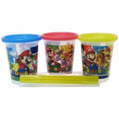 スーパーマリオ プラカップ ストロー付 タンブラー 3個セット nintendo 320ml×3 キャラクター グッズ