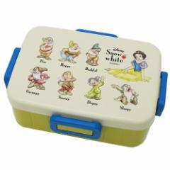 白雪姫 お弁当箱 4点ロック ランチボックス 七人のこびと ディズニー 650ml キャラクター グッズ