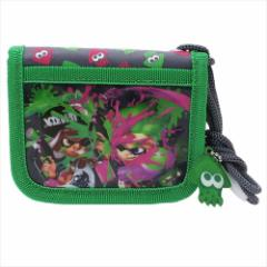 スプラトゥーン 2 子供用財布 ラウンドウォレット グリーン nintendo キッズ財布 ゲームキャラクター グッズ