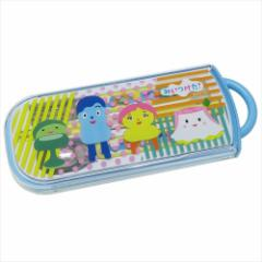 みいつけた カトラリーセット 食洗機対応スライド式トリオセット 17 NHK お箸&スプーン&フォーク キャラクター グッズ メール便可