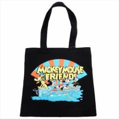 ミッキー&フレンズ トートバッグ カラートート 船 ディズニー 35×35cm キャラクター グッズ