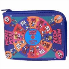 ミッキー&フレンズ 定期入れ 小銭入れ付きパスケース ゲームボード03 ディズニー ICカードケース キャラクター グッズ メール便可
