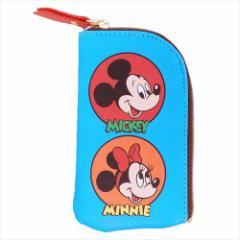 ミッキー&フレンズ キーケース ファスナー付きキーポーチ ゲームボード01 ディズニー ギフト雑貨 キャラクター グッズ メール便可