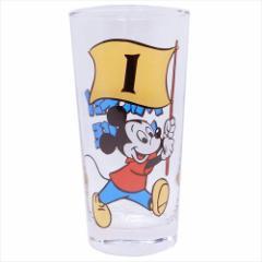 ミッキーマウス ガラスコップ グラスタンブラー フラッグ01 ディズニー ギフト雑貨 キャラクター グッズ