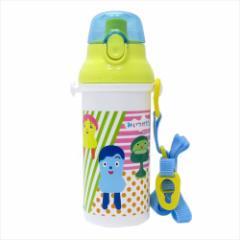 みいつけた 水筒 直飲みプラワンタッチボトル 17 NHK 480ml キャラクター グッズ